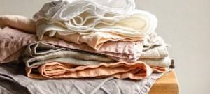Как стирать льняную одежду