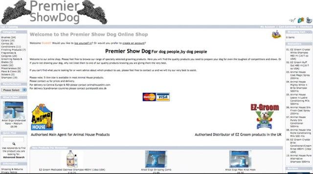Premier Show Dog
