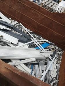 Notre bac de recyclage des chutes
