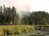 Pagami Creek Fire, Superior NF, Minnesota, September, 2011