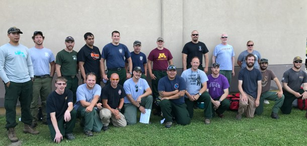 MIFC crew #2 (CRWB Ryan Miller & Mike Schipper) diverted to Magpie Fire in Montana on July 8, 2017