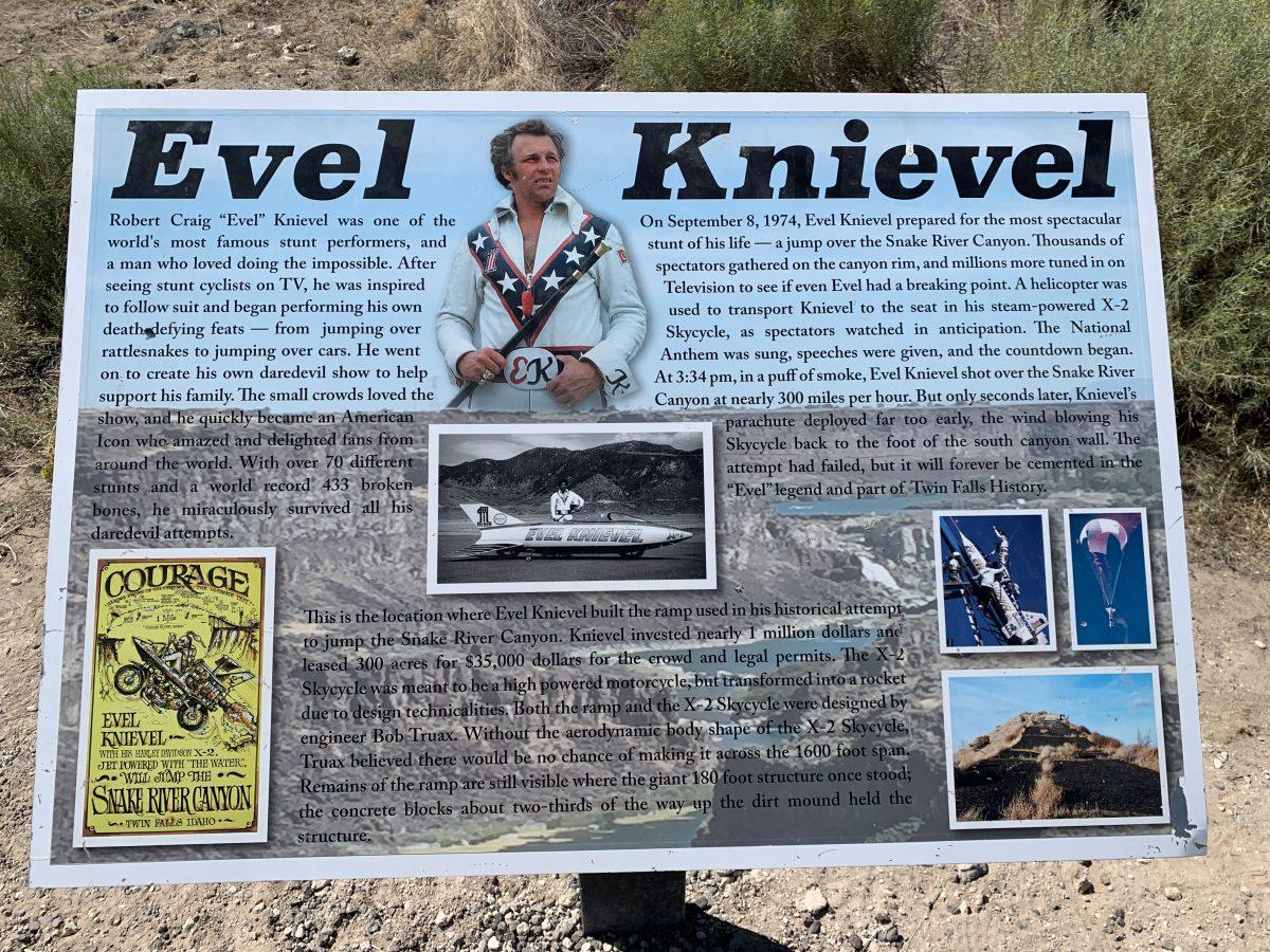 Run from Evel