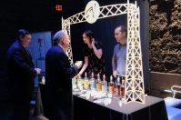 Vikre bartenders serving samples