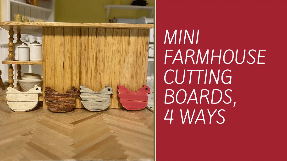 Four Ways to Make Mini Shabby Chic Farmhouse Cutting Boards