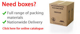 Moving Home Packing Guide boxes