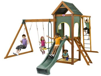 Moving Playground Equipment For New Home