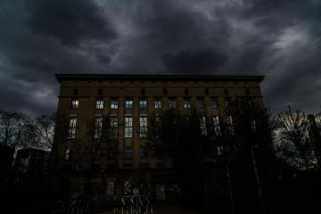 lightning at Berghain