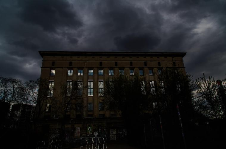 lightning at Berghain