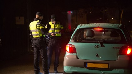 politie controle-voertuigen