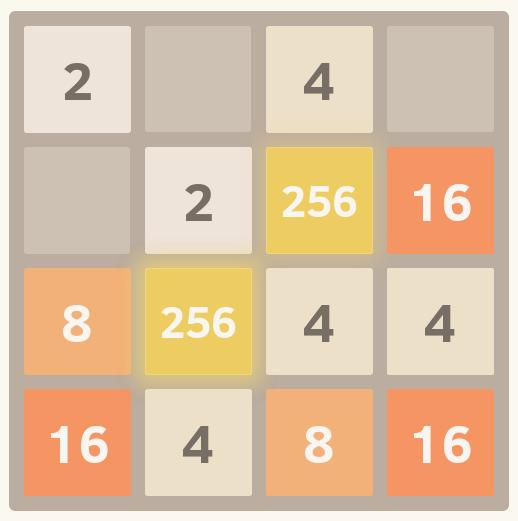 Пишем игру 2048 на bash в 2048 байт и меньше