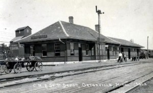 Ortonville depot