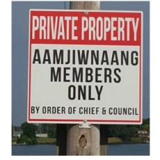 Aamjiwnaang Restricts St. Clair Shore Fishing To Members Only
