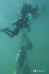 Divers & trash - Samuel Beer