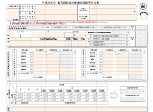 配偶者控除等申告書 入力用Excel