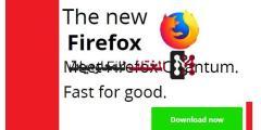 تحميل متصفح Mozilla Firefox  كوانتم الجديد