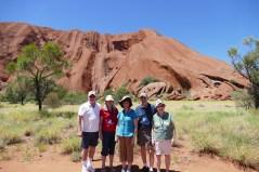 Uluru-Gary, Judy, Carol, Garrett, and Garnet