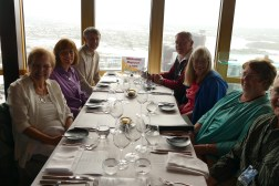 Dinner at the Sydney Tower- Garnet, Carol, Garrett, Gary, Judy, Wendy