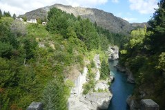 Shotover River at Queenstown
