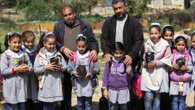 """Photo of """"الزراعة"""" تستقبل وفداً من طلبة مدارس مدينة غزة للاطلاع على مشاريعها"""