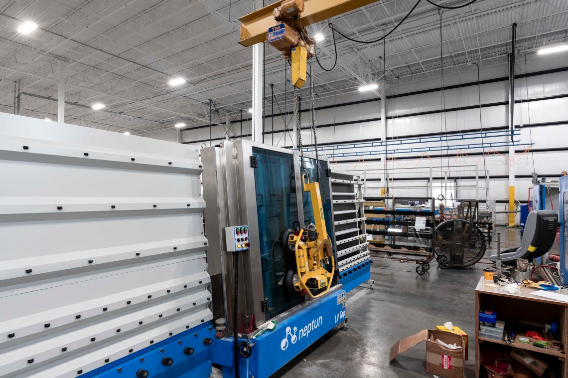 JC Moag Glass vertical washers