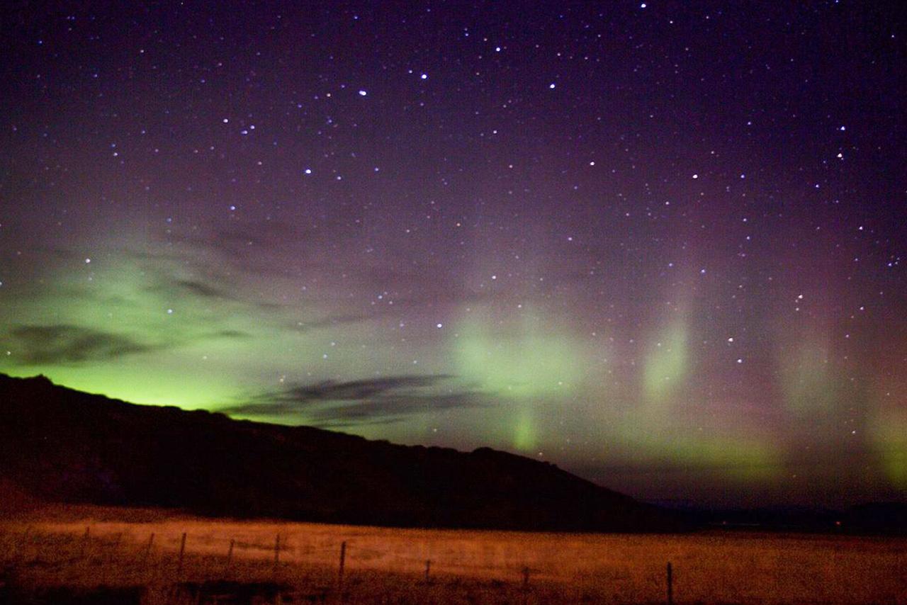Aurora boreal, Islandia