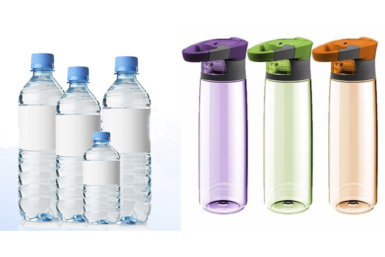 Botellas de agua