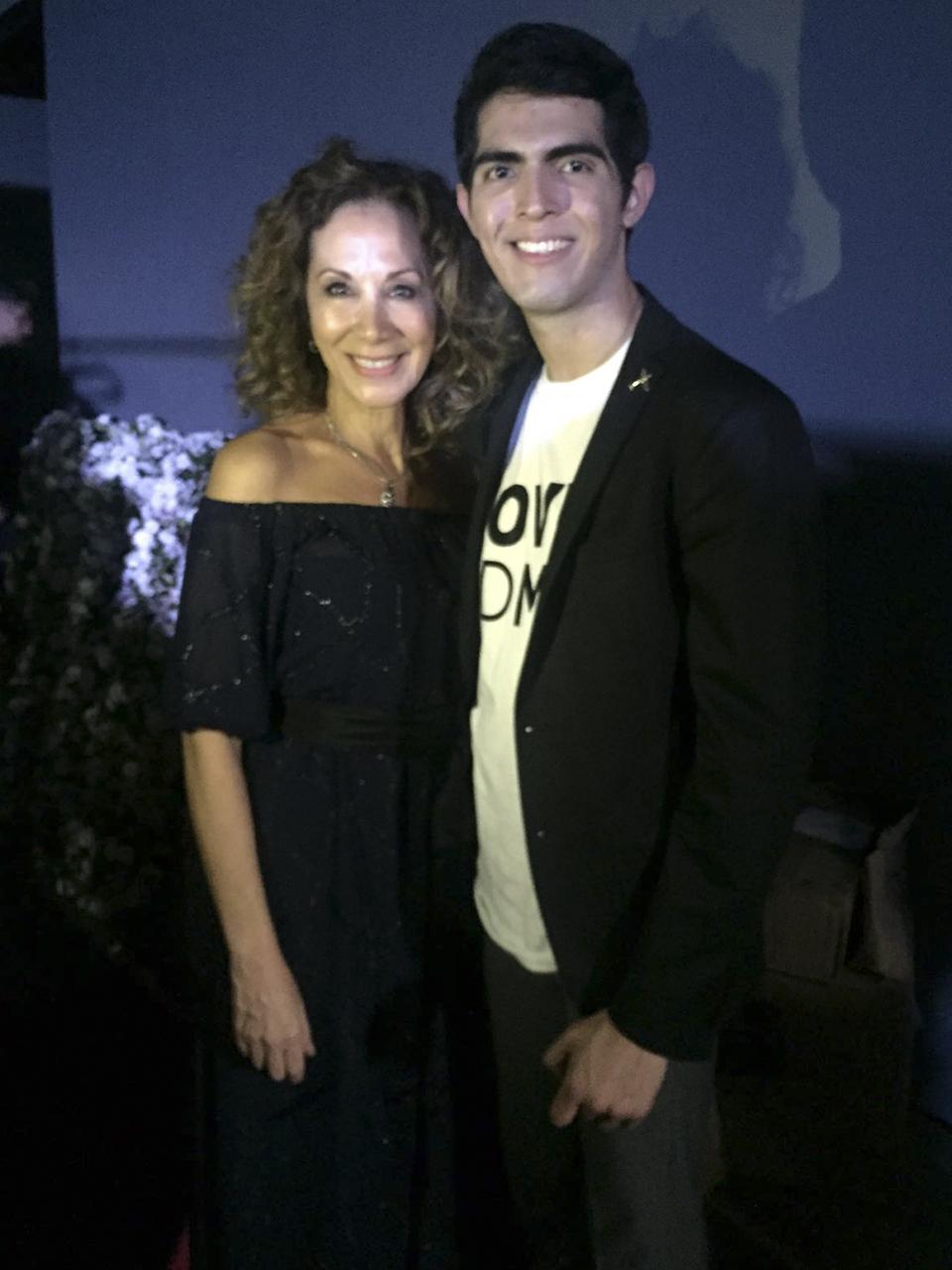 Con Gregorio Cayetano, un nuevo talento mexicano