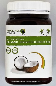 Coconut Oil Premium Grade Organic Virgin 400 ml Bottle