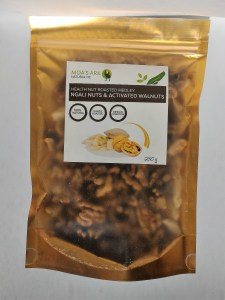 Ngali Nut and Activated Walnut Medley 250 gram Roasted