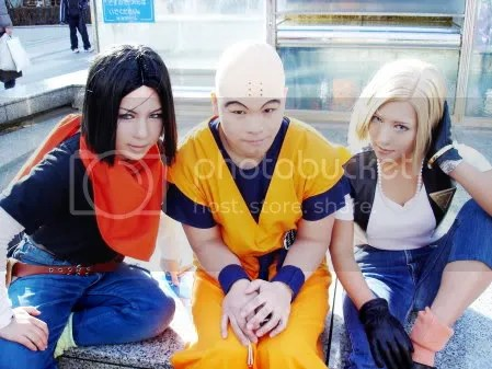 Android #17, Krillin and Android #18 [Dragon Ball Z]