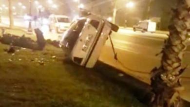 حادثة سير خطيرة تخلف إصابة السائق بمغوغة الكبيرة بطنجة 6