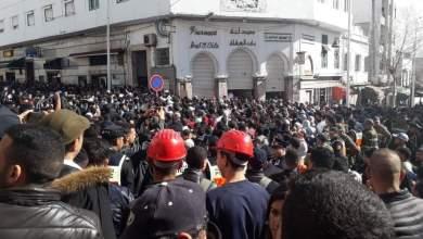 مسيرة حاشدة للأساتذة المتعاقدين تجوب شوارع تطوان (صور) 3