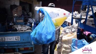 ميخاليو طنجة..أشخاص يعيشون على جمع النفايات القابلة للتدوير 2