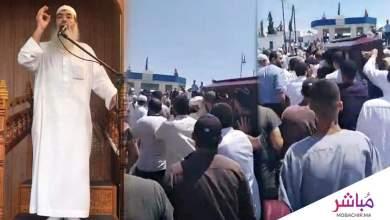 طنجة..جنازة مهيبة للشيخ العربي العمراني 3