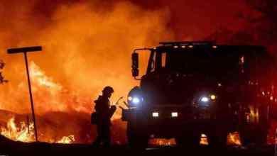 """اندلاع حريق بغابة """"عين الحصن"""" والسلطات تسارع الزمن لإخماده 4"""