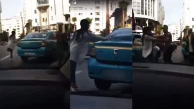 طنجة..تقديم سائق طاكسي وفتاة تبادلا العنف أمام النيابة العامة 3