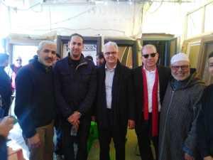 نزار بركة يبدأ حملته الإنتخابية من سوق كاسباراطا بطنجة 5