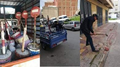 طنجة..السلطات تشن حملة لتحرير الملك العمومي 5