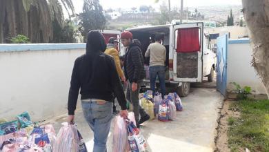 """توزيع مساعدات غذائية على ساكنة الدواوير المتضررة من تداعيات """"كورونا"""" بالجبهة 3"""