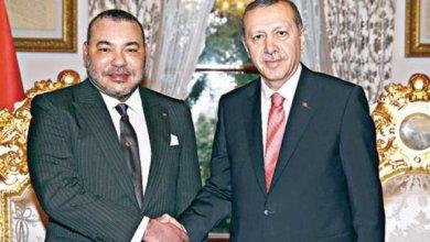 أردوغان يهنئ الملك محمد السادس بحلول عيد الفطر 1