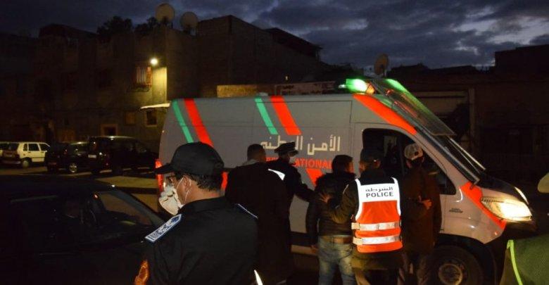 إطلاق الرصاص لتوقيف ستة أشخاص خرقوا حالة الطوارئ 1
