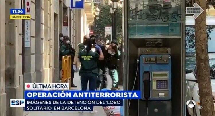 السلطات الإسبانية توقف مغربي خطط لعمليات إرهابية ببرشلونة 1