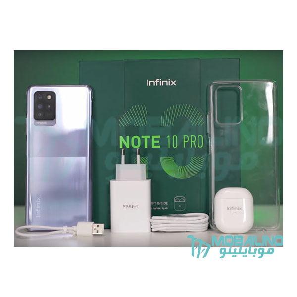 محتويات علبة Infinix Note 10 Pro