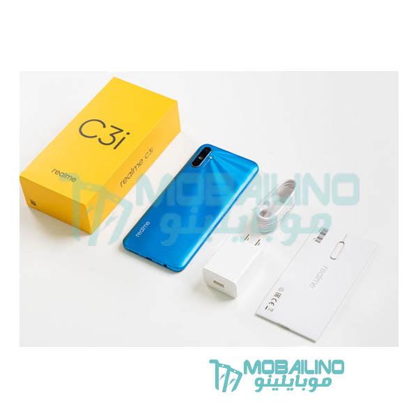 محتويات علبة هاتف Realme C3i