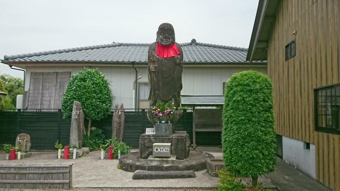 日本一のお地蔵様がある出水の「八坂神社」