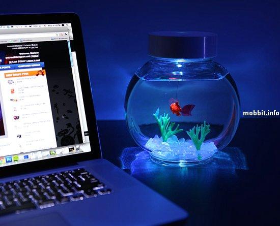 Электронная золотая рыбка