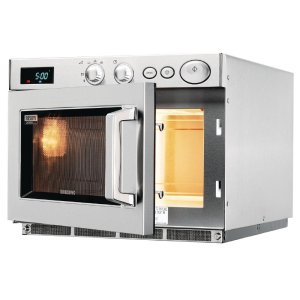 Samsung C528 microwave with open door