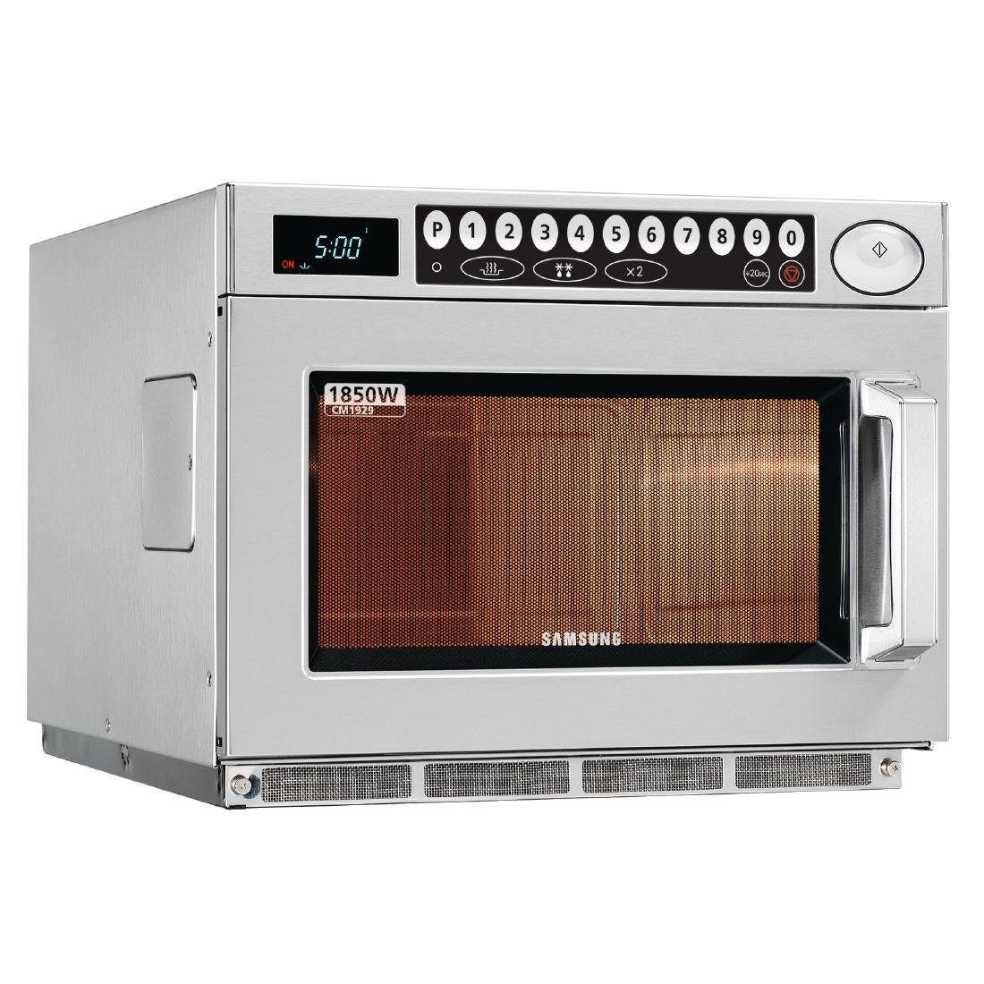 Programmable 1850w Microwave Oven Powerful Commercial