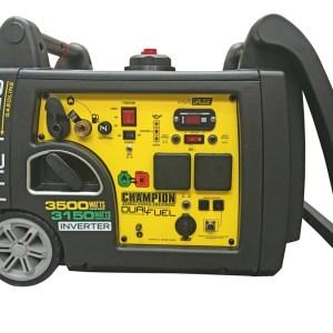 Inverter dual fuel generator LPG