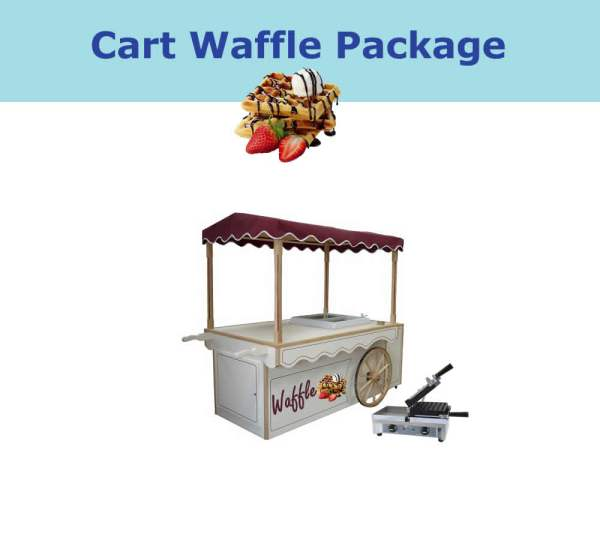 waffle cart package for mobile catering